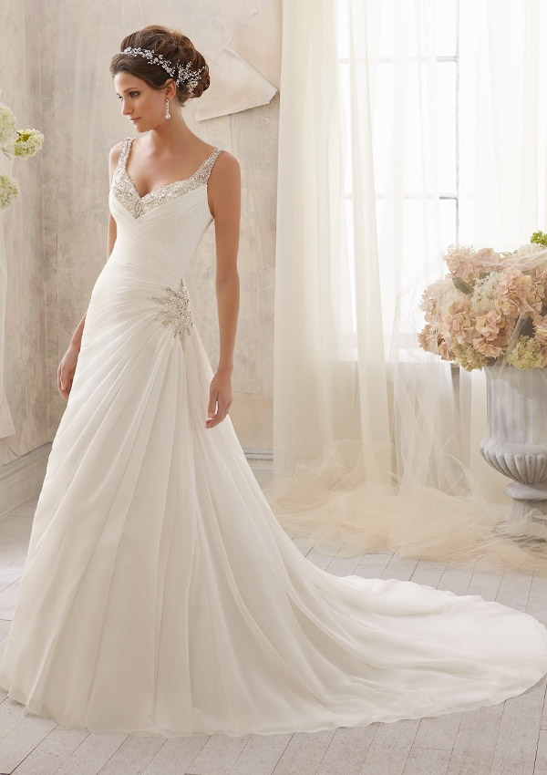 how long does it take to get a mori lee wedding dress