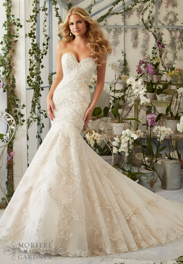 Wedding Trends: Fit and Flare Gowns | Mias Bridal & Tailoring